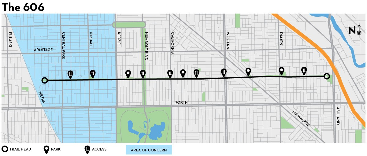 Is the Bloomingdale Trail a path to displacement Feature
