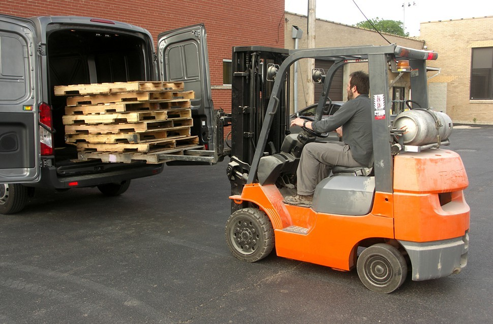 Not only does Pigott understand finance, he can also operate a forklift.