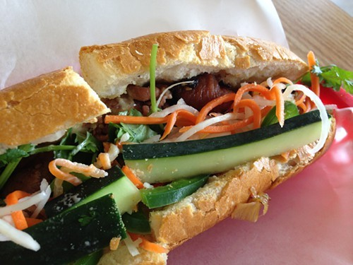 Grilled pork banh mi at CoCo
