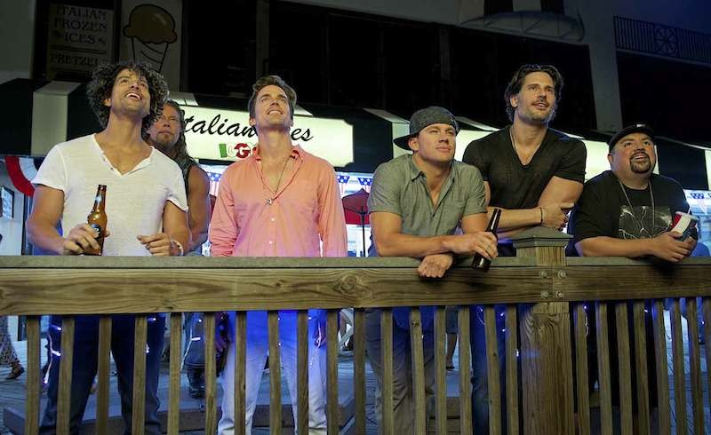 One of the many hang-out sessions of Magic Mike XXL
