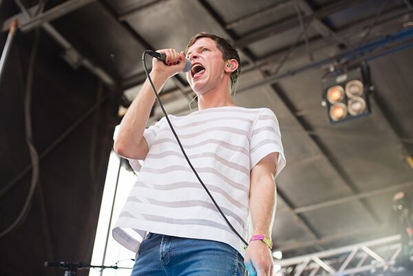 Mike Hadreas, aka Perfume Genius, whose endearing dancing cannot be accurately depicted in this photo. - ROSARIO ZAVALA