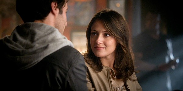Italia Ricci is April on Chasing Life. - ABC FAMILY