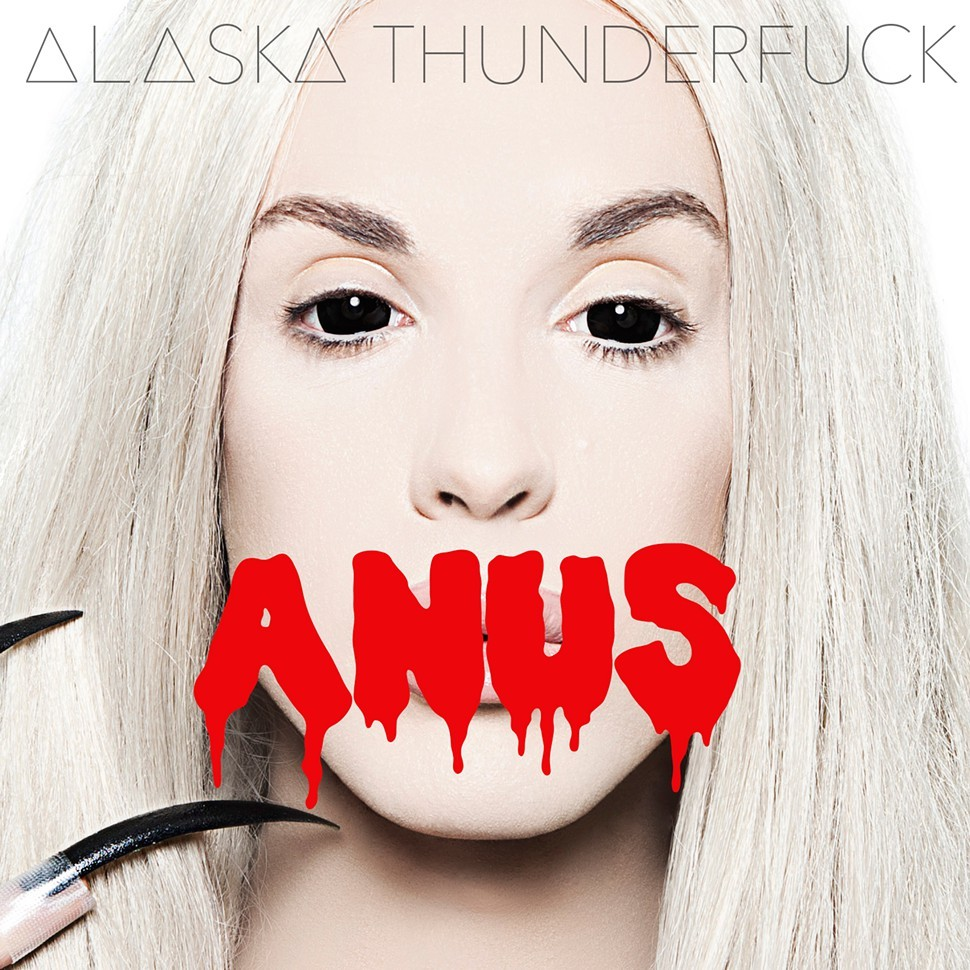 The album art for Anus
