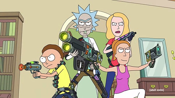If You Arent Watching Rick And Morty Nows The Time To Start Bleader