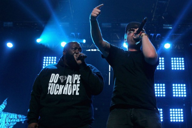 Run the Jewels are down to riot - KARL WALTER/GETTY IMAGES