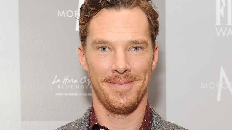 Benedict Cumberbatch lays down the law. - ANGELA WEISS/GETTY IMAGES