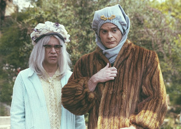 Fred Armisen and Bill Hader as Big and Little Vivvy on Documentary Now! - IFC