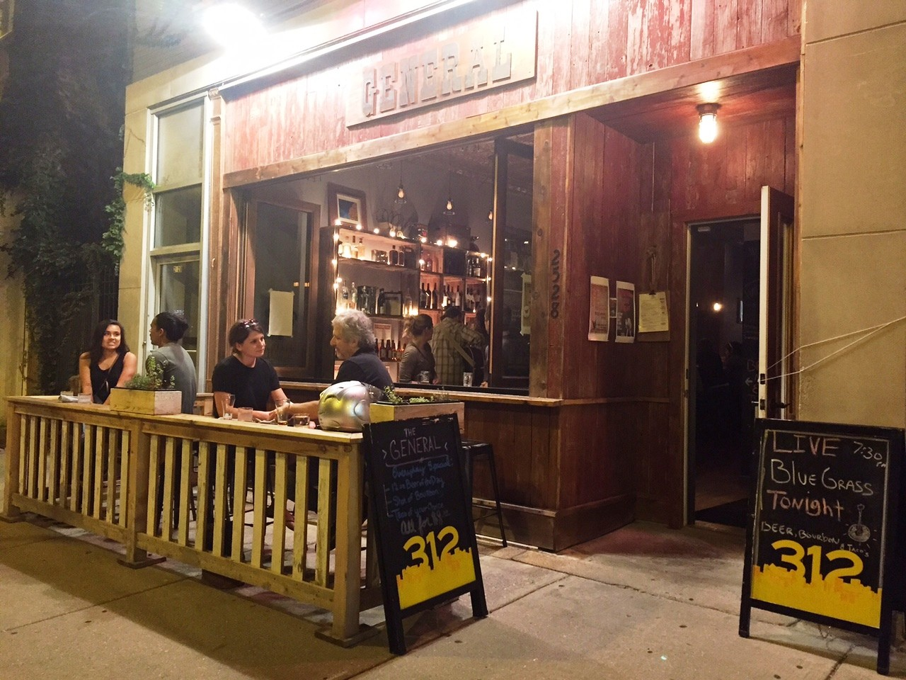 Southern Meets Mexican At The General A Western Themed Saloon In Logan Square Bleader