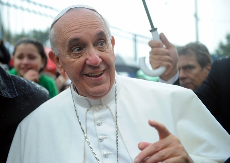 Pope Francis meets with everyone. - AGÊNCIA BRASIL