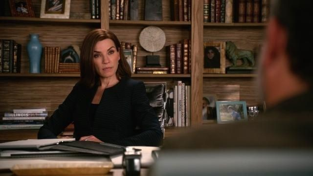 JULIANNA MARGULIES AS ALICIA FLORRICK ON THE GOOD WIFE