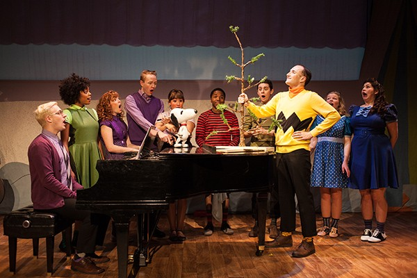 Emerald City Theatre's A Charlie Brown Christmas - BRIAN JARREAU