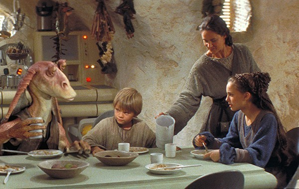 Don't worry—Jar Jar won't be at this week's Star Wars Dinner.