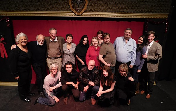 The cast of Holiday Stories - COURTESY THREE CAT PRODUCTIONS