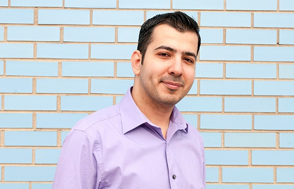"""After coming to the U.S. from Iraq, Othman Al Ani has been asked, """"Are you related to Osama bin Laden?"""" - ANDREA BAUER"""
