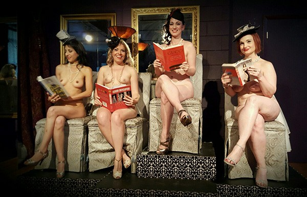 Go Beyond the Valley of the Dahl with Naked Girls Reading on January 8 - COURTESY NAKED GIRLS READING