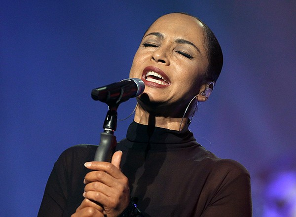 Sade onstage in Nice, France, in 2011 - VALERY HACHE/GETTY