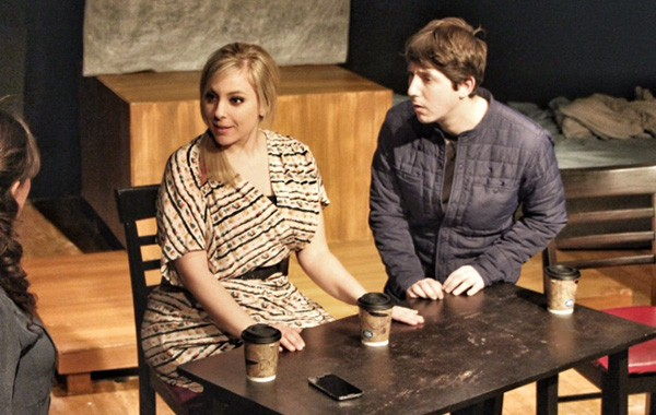 Neil LaBute's The Shape of Things at Eclectic Full Contact - COURTESY ECLECTIC FULL CONTACT THEATRE