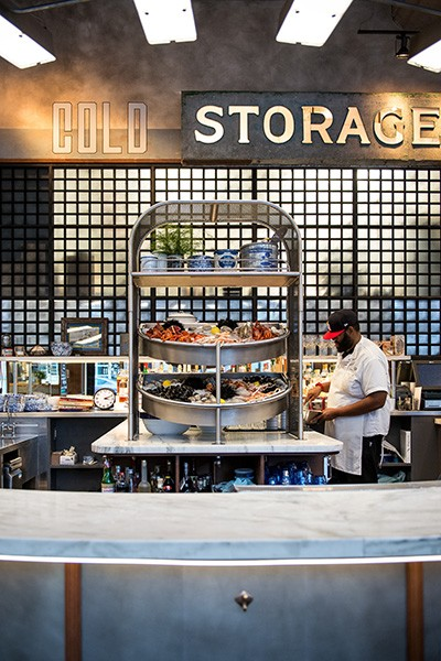 Cold Storage Is Located In The Repurposed Fulton Market Building Along With Its