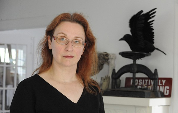 Audrey Niffenegger enters the Literary Death Match on Thu 3/10. - AL PODGORSKI