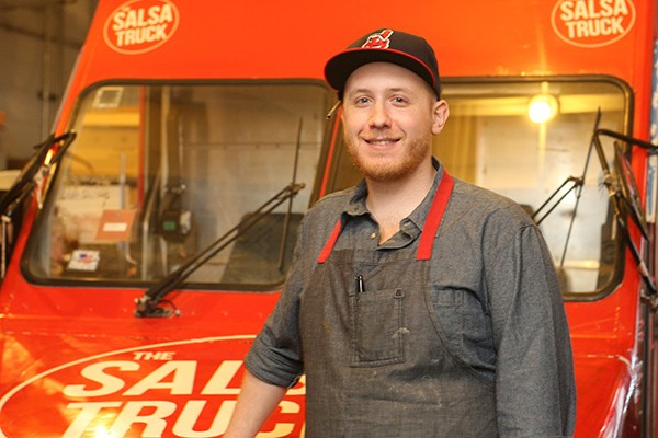 Dan Salls of the Salsa Truck and the Garage - JULIA THIEL