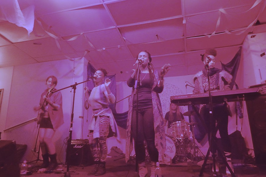 The Highness Collective perform at Young Camelot on October 24, 2015, to celebrate the organization's third anniversary. - LEE V. GAINES