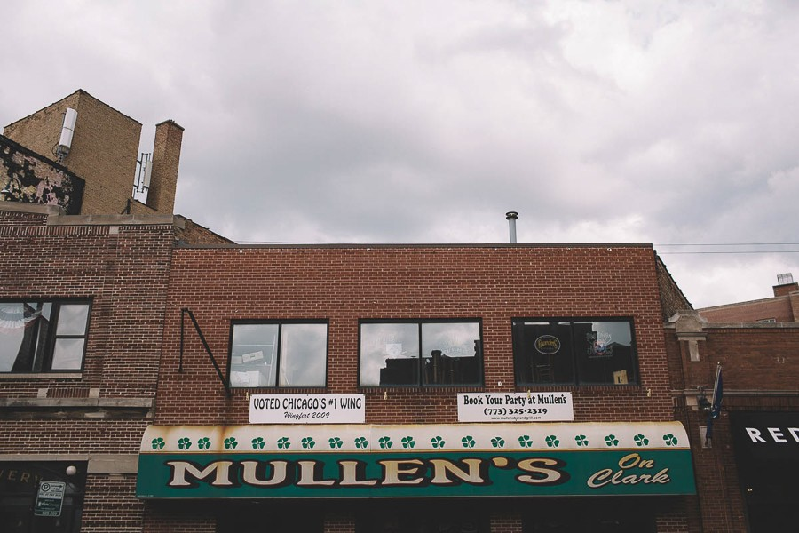 As part of a huge redevelopment project, a string of buildings that includes Mullen's on Clark will be demolished in the next few months. - STEPHANIE BASSOS