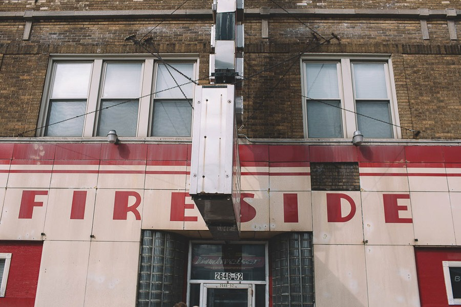 The Fireside's iconic red bowling-pin sign isn't quite visible from this angle, but any Chicago punk of a certain age can picture it perfectly. - STEPHANIE BASSOS