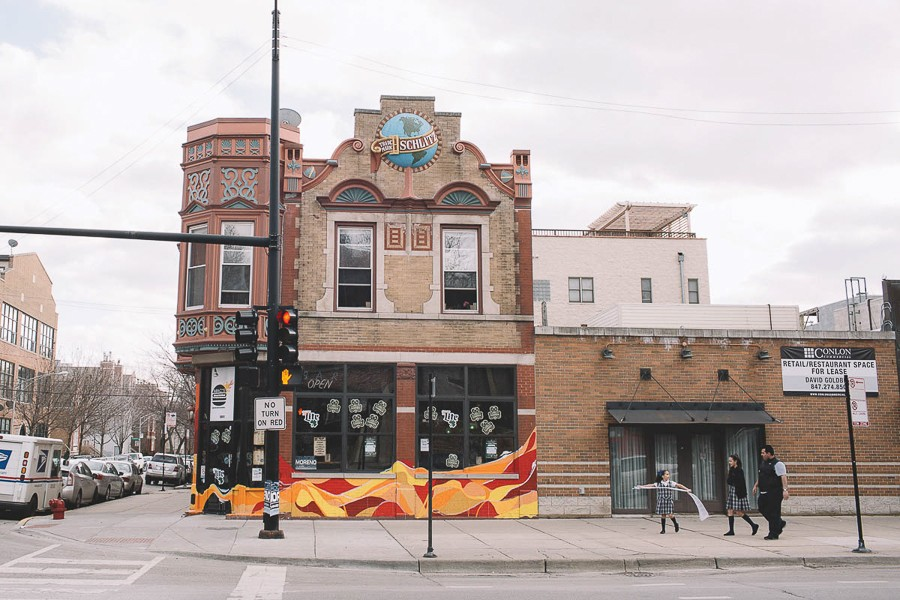 The old Schlitz tied house at 1801 W. Division, formerly home to No Palace, is now Mac's Wood Grilled. - STEPHANIE BASSOS