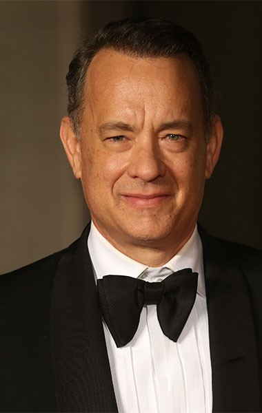 Give thanks for Hanks on Sat 4/2. - GETTY