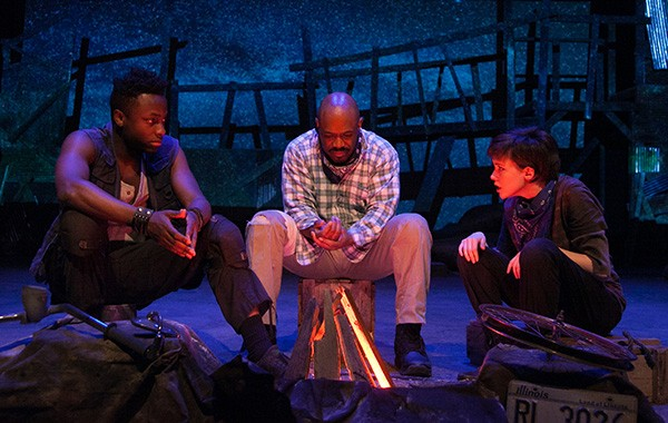 Adventure Stage Chicago's Sight Unseen - JOHNNY KNIGHT