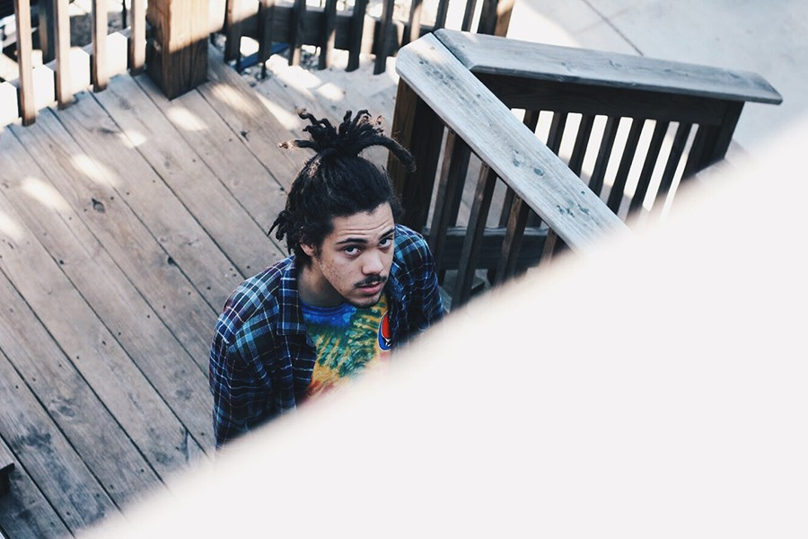 Kweku Collins outside Soundscape Studios in East Humboldt Park - ZAKKIYYAH DUMAS