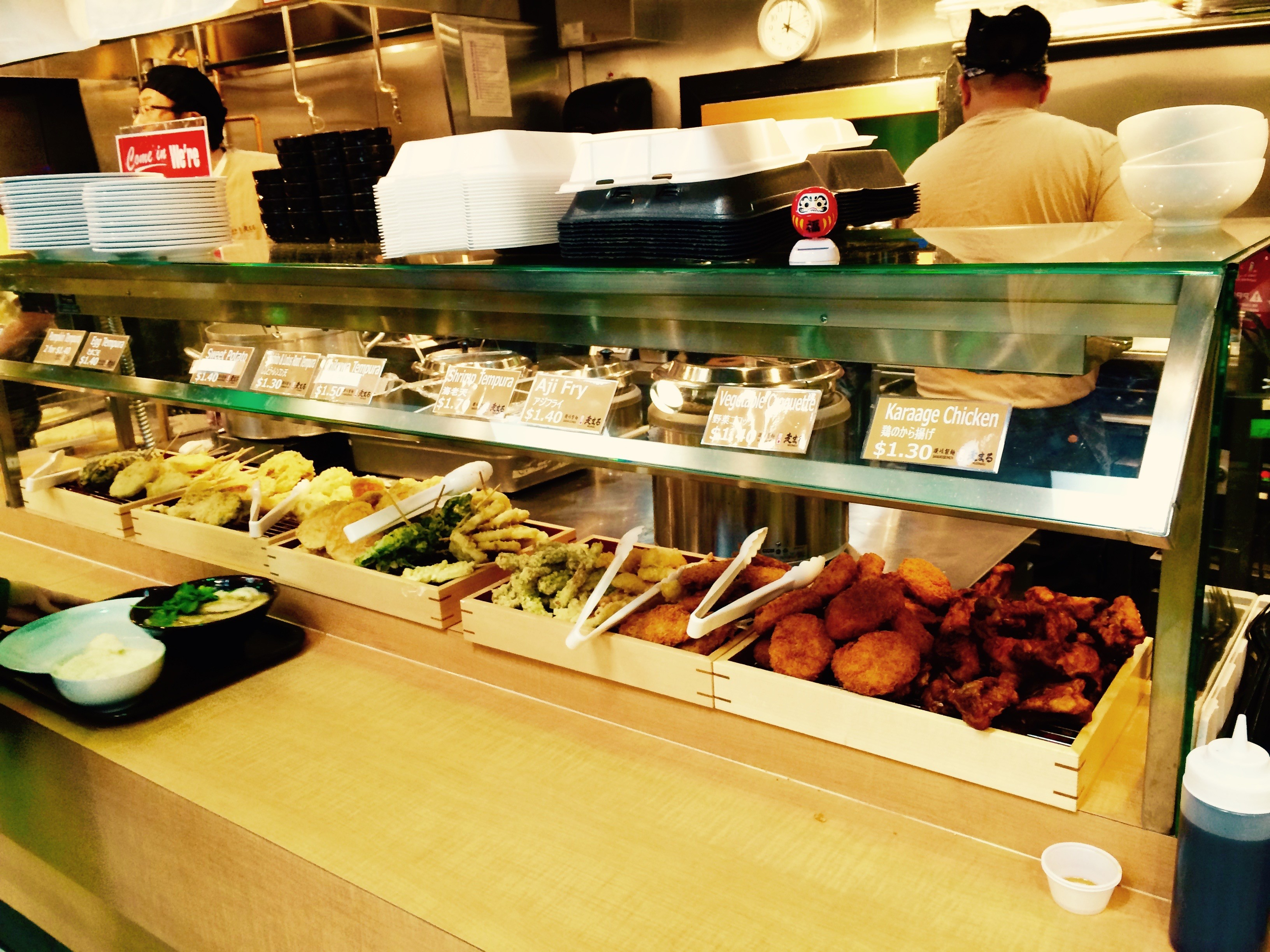 March sushi, Mitsuwa, Chicago | A Traveler's Library
