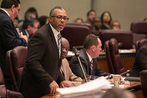 Howard Brookins Jr. is the latest alderman stuck with the thankless job of education committee chair. - BRIAN JACKSON/SUN-TIMES MEDIA
