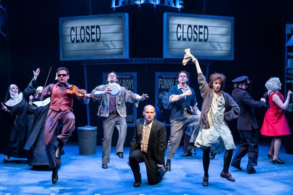 The Producers, at the Mercury Theater - BRETT A. BEINER