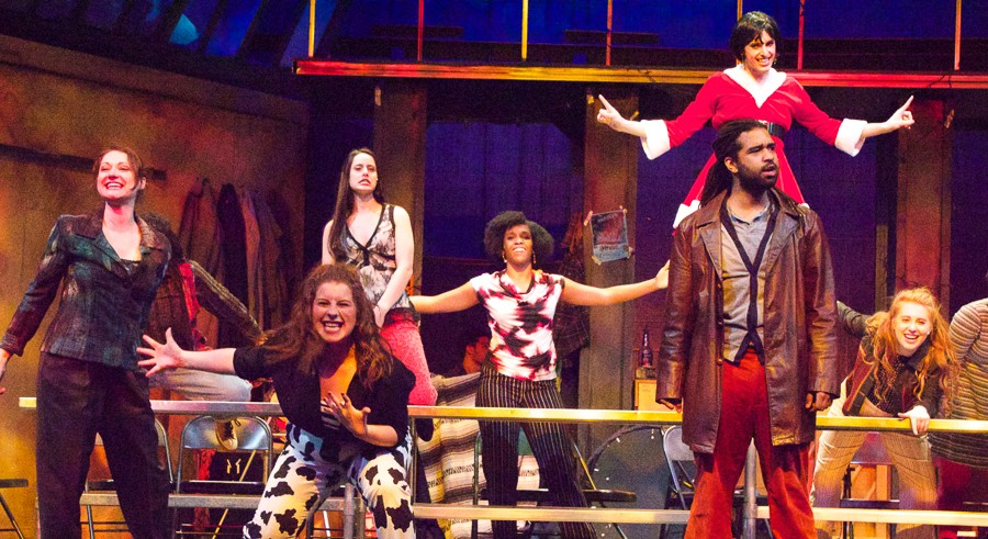 Rent, at the Metropolis Performing Arts Center - LIZ LACH