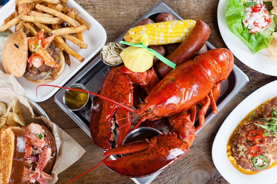Awesome Consider The Lobsters At Smack Shack Restaurant Review Download Free Architecture Designs Salvmadebymaigaardcom