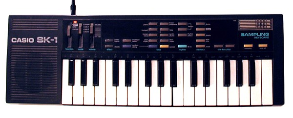 Casio SK-1 keyboard - VLAD SPEARS / FLICKR