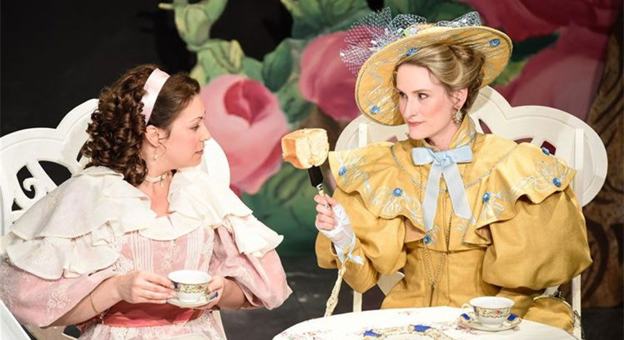 Dead Writers Theatre Collective's The Importance of Being Earnest, at the Athenaeum - EMMA MEYER
