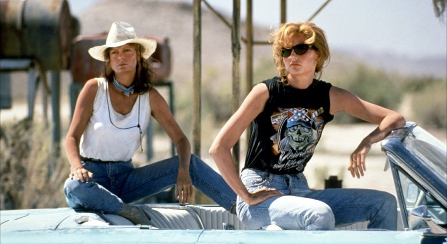 Thelma & Louise screens in Millennium Park on Tue 7/12.