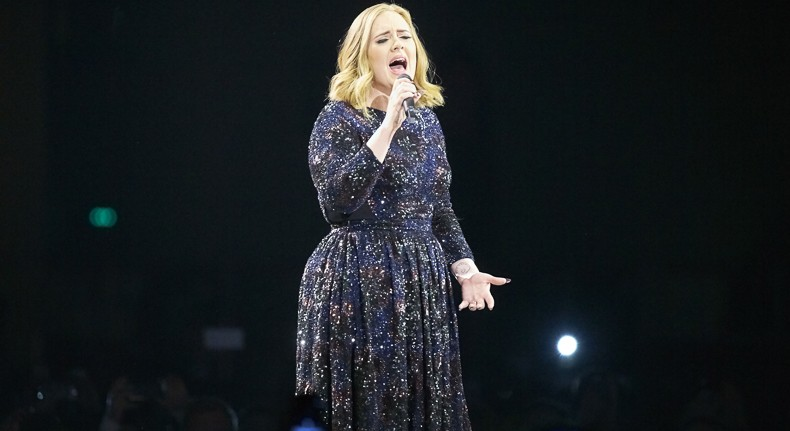 Adele sings her heart out at the United Center on Mon 7/11 and Wed 7/13. - GETTY IMAGES EUROPE