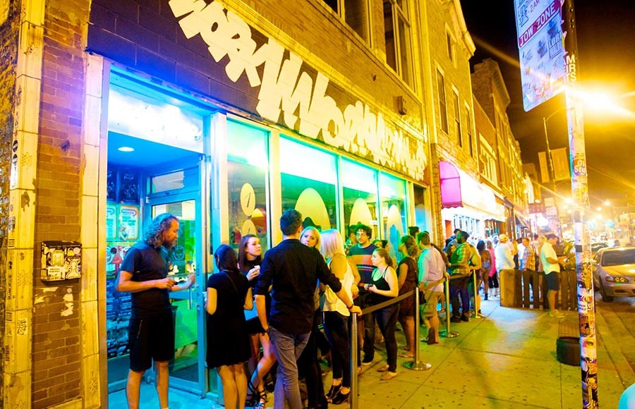 Beauty Bar, which hosts lots of DJ sets and electronic music, is among the targeted venues. - DAVID MILLER