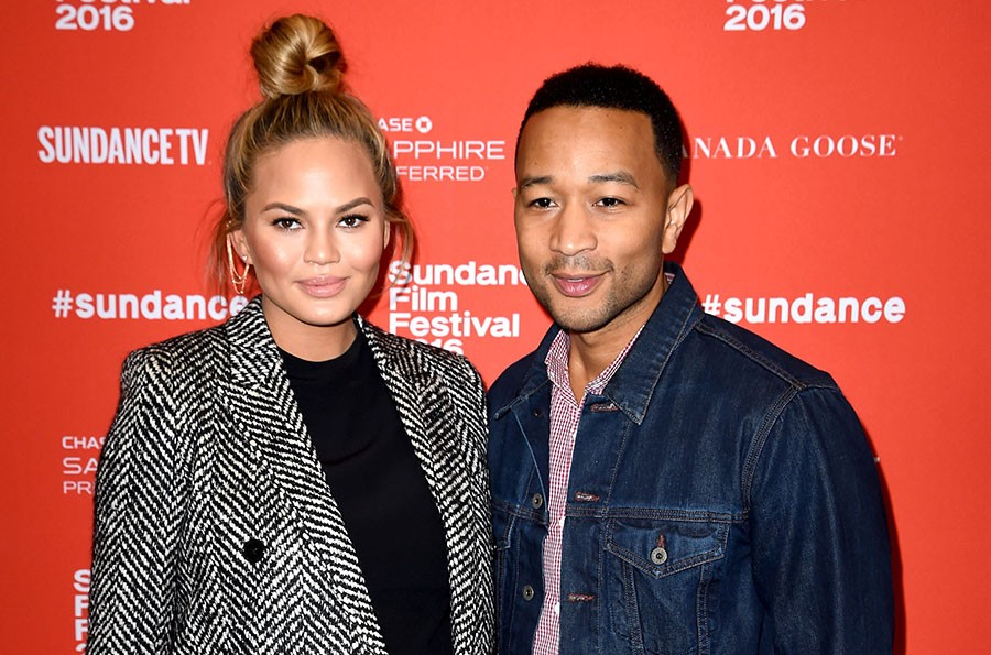 Chrissy Teigen and John Legend at the Southside With You premiere during the 2016 Sundance Film Festival - NICHOLAS HUNT/GETTY