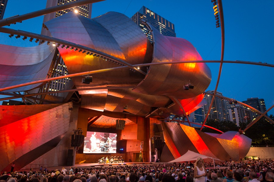 Let's have a moment of gratitude that the festival has moved its headliners to Pritzker Pavilion, where the sound puts its old Grant Park digs to shame. - PATRICK L. PYSZKA/CITY OF CHICAGO