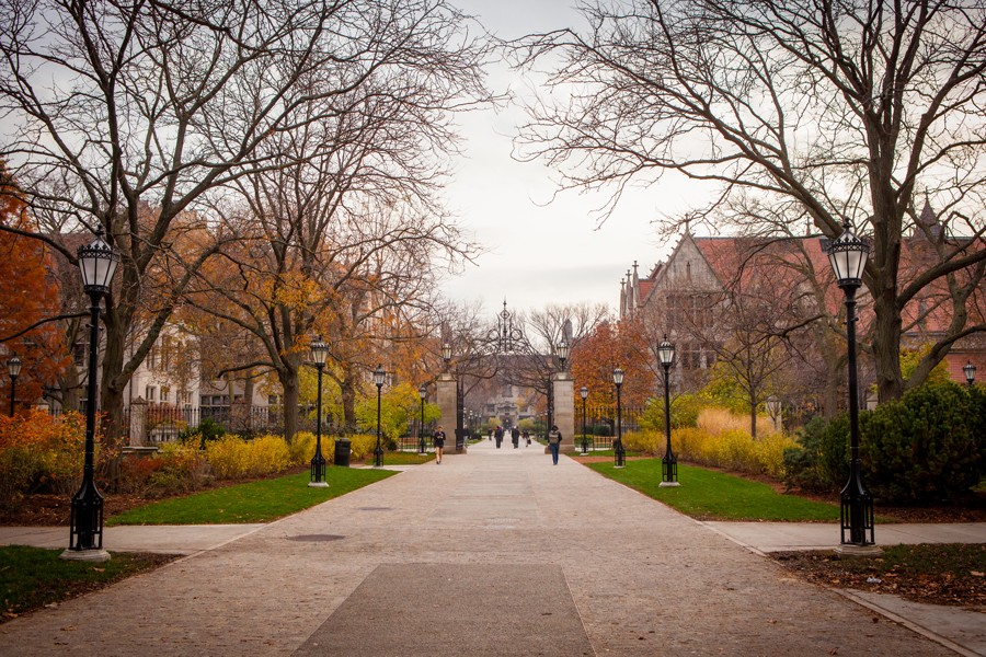 """In a recent letter, U. of C. dean John Ellison told students """"safe spaces"""" and """"trigger warnings"""" have no place on campus. - ANH DINH"""