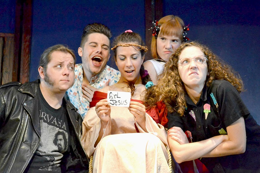 Girl Jesus: Resurrected and Back to School!, at the Public House Theatre - KELLY FRANK