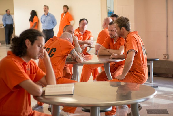 Cook County Jail as depicted in the TV series Chicago P.D. - SUN-TIMES MEDIA