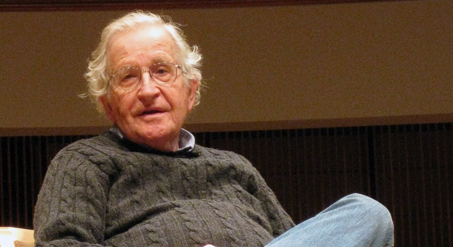 Noam Chomsky discusses foreign policy just ahead of the presidential debate. - AFP/GETTY IMAGES