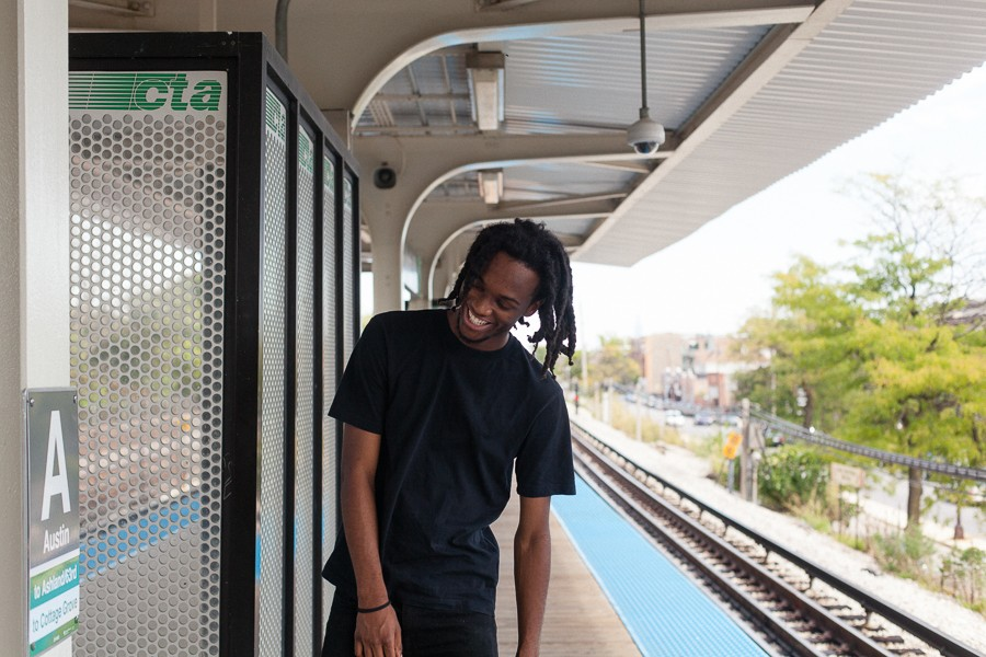 After Saba graduated high school at 16, the Austin Green Line stop became his doorway to Columbia College—and to the Harold Washington Library's YouMedia center, an incubator for hip-hop artists. - DANIELLE A. SCRUGGS