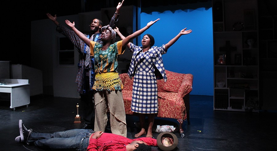 Pulse Theatre's The Colored Museum, at ETA Creative Arts - AARON MITCHELL REESE