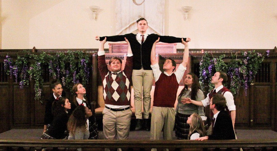 Refuge Theatre Project's Bare: A Pop Opera - LAURA LEIGH SMITH